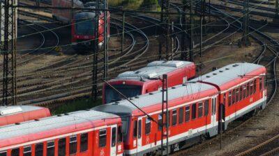 S-Bahnen von oben