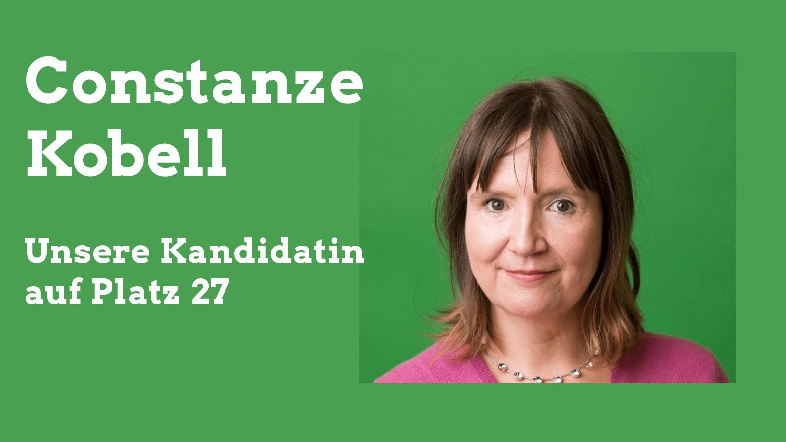 Constanze Kobell — Unsere Kandidatin für den Stadtrat