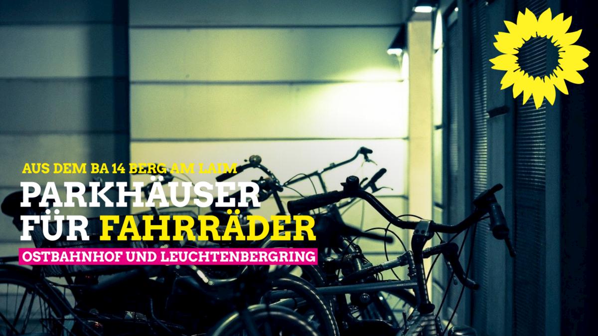 Fahrrad-Parkhäuser an der S-Bahn