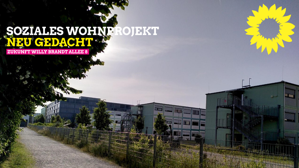 Dauerhaftes soziales Wohnprojekt an der Willy-Brandt-Allee 8