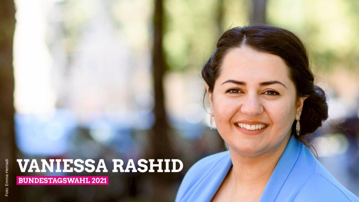 Vaniessa Rashid – GRÜNE Direktkandidatin für München-Ost